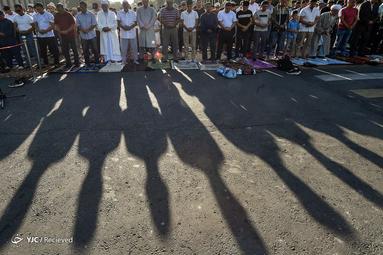 نماز عید قربان در قرقیزستان