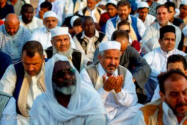 نماز عید قربان در لیبی