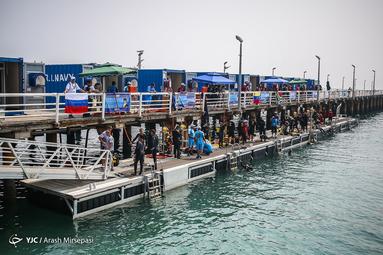 آخرین روز از چهارمین دوره مسابقات بین المللی غواصی عمق 2019