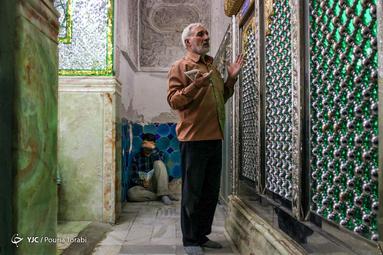 مراسم پرفیض دعای عرفه در مقبره قیدار نبی در شهرستان خدابنده استان زنجان