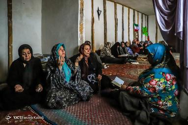مراسم پرفیض دعای عرفه در مسجد دهکده جهان نما در گلستان