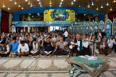 دعای پر فیض عرفه در حسینیه ثارالله یاسوج