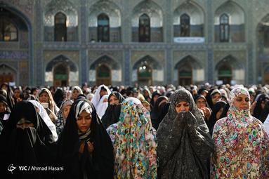 نماز عید سعید قریان در حرم مطهر رضوی