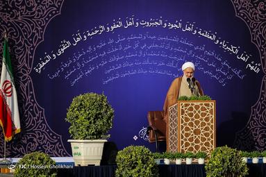 نماز عید سعید قریان در مسجد النبی قزوین