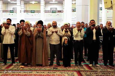 نماز عید سعید قریان در شیراز