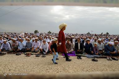 نماز عید سعید قریان در بندر ترکمن