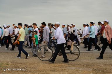 عید قربان در بندر ترکمن