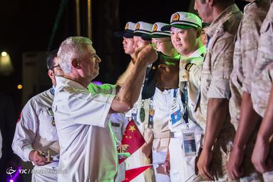 اختتامیه چهارمین دوره مسابقات غواصی ارتشهای جهان ۲۰۱۹