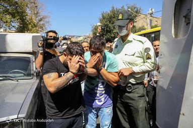 دستگیری اراذل و اوباش شمشیری