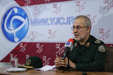 بازدیدسردار کمالی رئیس اداره سرمایه انسانی سرباز ستاد کل نیروهای مسلح از باشگاه خبرنگاران جوان