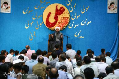 جشن غدیر خم در امامزاده قاضیالصابر