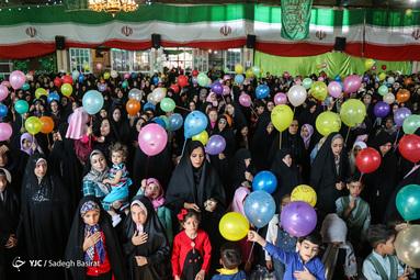 جشن عید غدیرخم در دالکریمه حضرت رقیه(س) شهرستان شهرضا