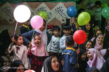 جشن عید غدیرخم در دالکریمه حضرت رقیه شهرستان شهرضا