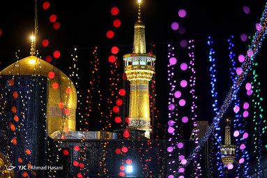 عید غدیرخم در حرم رضوی