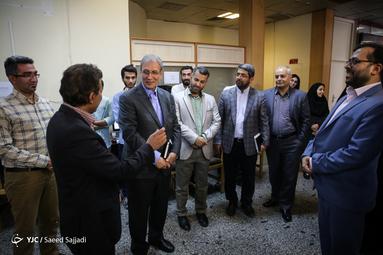 بازدید سخنگوی دولت از باشگاه خبرنگاران