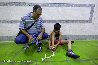 مسابقات کشتی آزاد نونهالان کشور-همدان