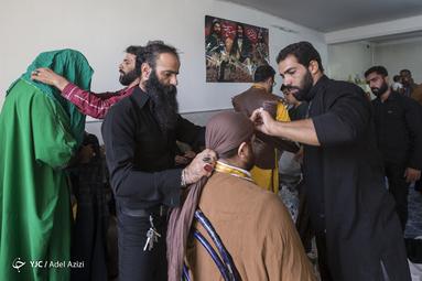 چاووش عزا در مشهد اردهال