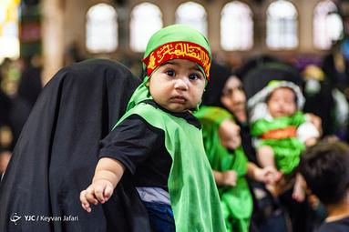 هیئتِ ما/ آئین شیرخوارگان حسینی در مصلی ساری
