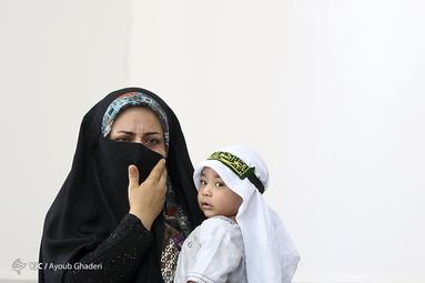 هیئتِ ما/ آئین شیرخوارگان حسینی در لامرد استان فارس