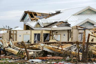 طوفان «دوریان» در مجمع الجزایر باهاماس