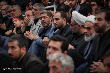 عزاداری شام غریبان در حسینیه امام خمینی(ره