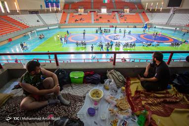 مسابقات کشتی انتخابی اوپن بزرگسالان استان همدان