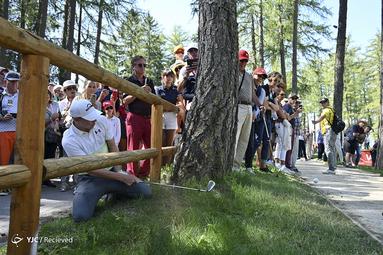 بازی گلف در سوئیس