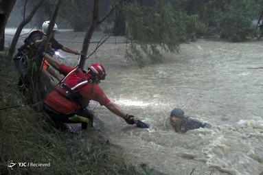 نجات جان یک مرد در ایالت نئوو لئون، مکزیک