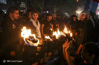هیئتِ ما/ آئین سنتی مشعلگردانی در تهران