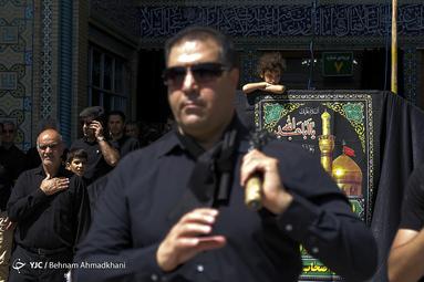 عزاداری تاسوعای حسینی در شهرری