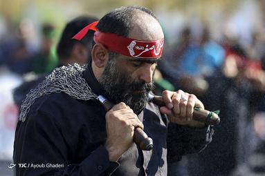 تاسوعای حسینی در شهرستان لامرد استان فارس