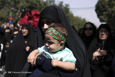 عزاداری تاسوعای حسینی در قزوین