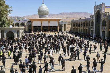 عزاداری تاسوعای حسینی در شیراز