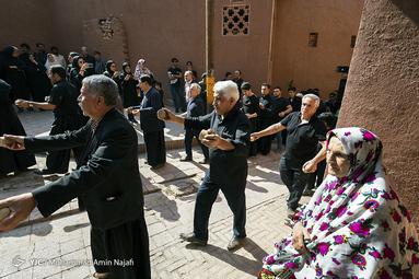 عزاداری تاسوعای حسینی در ابیانه