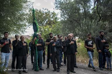 عزاداری تاسوعای حسینی در شهرک هرزویل منجیل