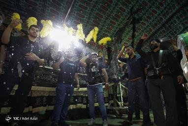 عزاداری تاسوعای حسینی در شهر خوانسار