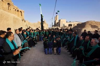 آیین سنتی عزاداری زارخاک در روستای قورتان