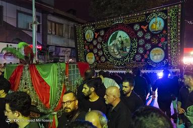 مراسم عزاداری شب عاشورای حسینی(ع) در رشت