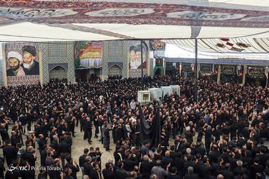 عزاداری روز عاشورای حسینی (ع) در امامزاده هارونیه اصفهان