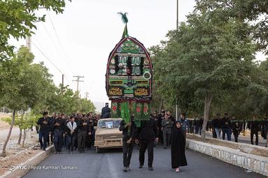 عزاداری عاشورای حسینی(ع) در شهرستان بن در استان چهارمحال و بختیاری