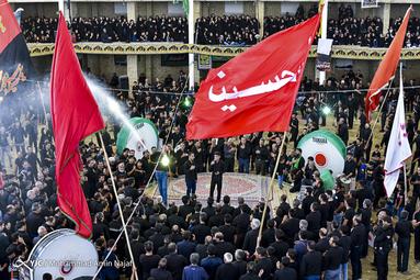 عزاداری عاشورای حسینی(ع) در روستای باغ ملک اصفهان