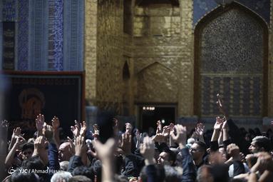 عزاداری عاشورای حسینی(ع) در حرم رضوی
