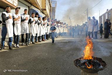 عزاداری عاشورای حسینی(ع) در شهرستان ابهر