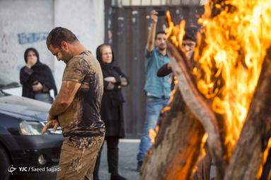 آیین گلمالی لرستانیهای تهران