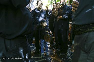 عزاداری عاشورای حسینی(ع) در روستای پس قلعه