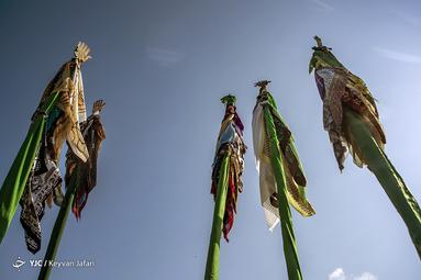 عزاداری عاشورای حسینی(ع) در روستای لیمون ساری