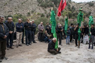 عزاداری عاشورای حسینی(ع) در روستای گنجه رودبار