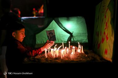 شام غریبان حسینی در قزوین