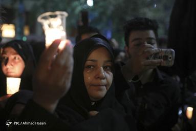 شام غریبان حسینی در مشهد مقدس