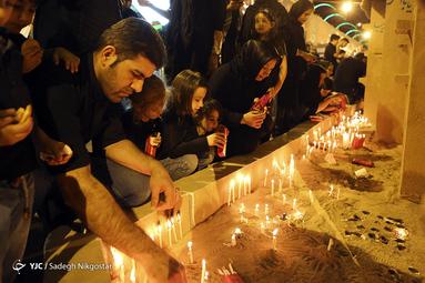 شام غریبان حسینی در میدان سپاه تهران
